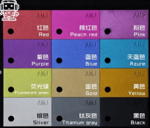 AMJ96 Case Colors