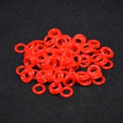 Red o-rings