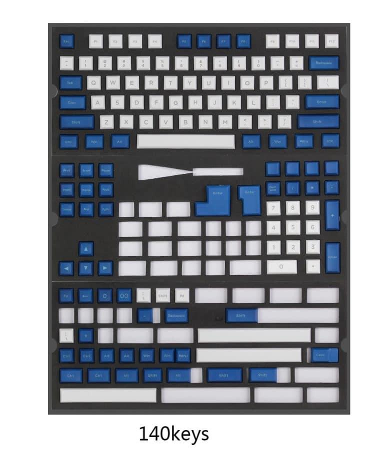 DSA Penumbra White Full 140 Keys