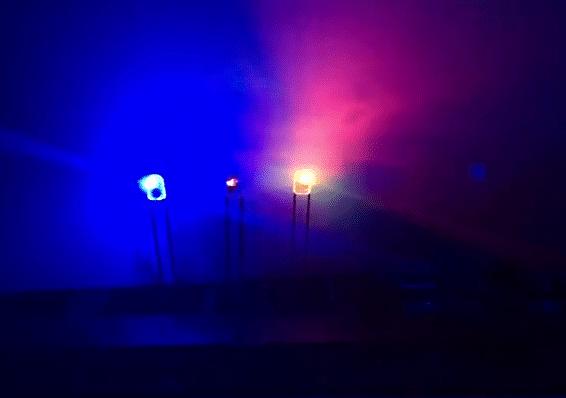 7 colored Mechanical Keyboard LED