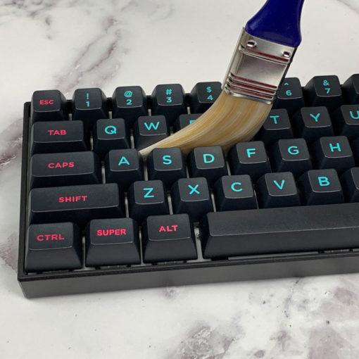 Keyboard Brush On Mechanical Keyboard