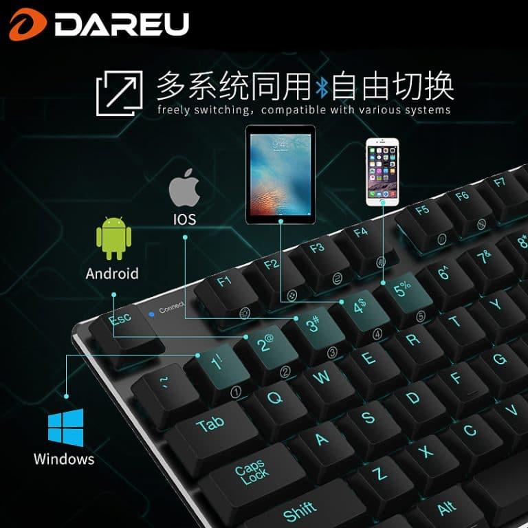 DareU EK820 Bluetooth Multiple Devices