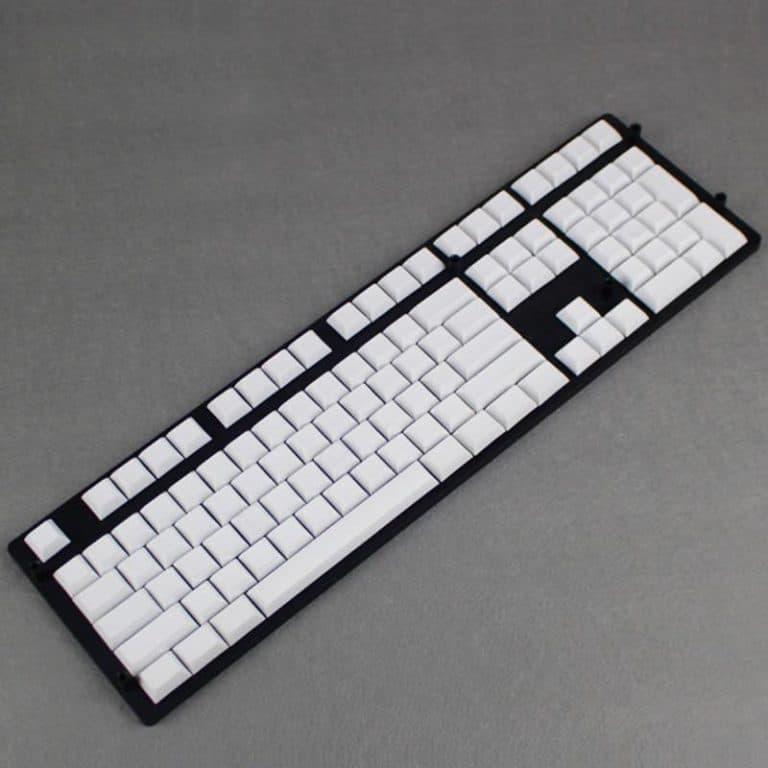 DSA Blank White Keycaps