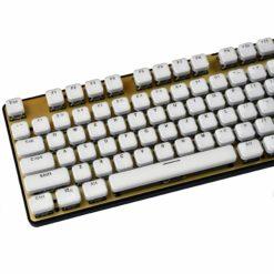 Acrylic Chiclet Keys Mechanical Keyboard