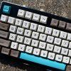 SA Retro Beige Keycaps Sunlight