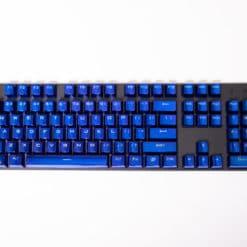 Electroplated Metallic Blue Keycaps Main