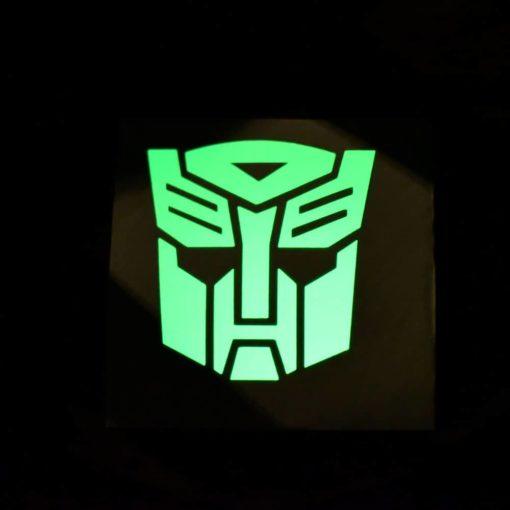 Autobot Glow Decal Dark
