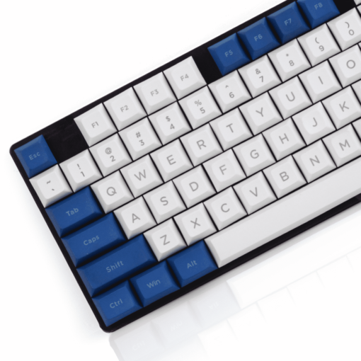 DSA Penumbra White Mechanical Keyboard 108 Keys