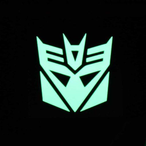 Decepticon Glow Decal Dark