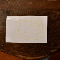Hello Kitty Glow Decal Light