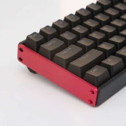 Iqunix F60 Black and Red Profile