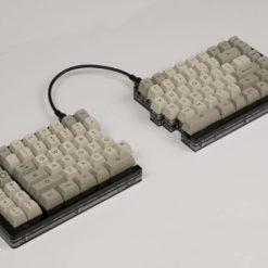 SA IBM PBT Keycaps Split Side