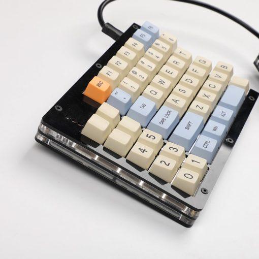 Split 96 Keyboard Left