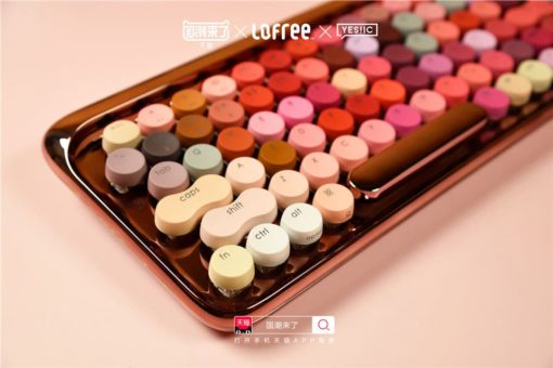 Limited Edition Lofree Cosmetic Keyboard 9