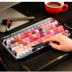 Lofree Cosmetic Keyboard with lipstick