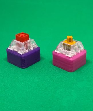 3D printed Color changing mechanical switch keychain
