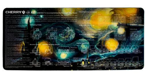 Starry Night Deskmat Main