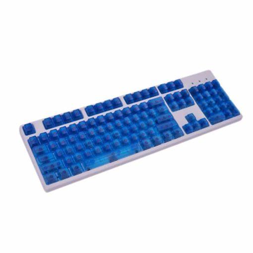 OEM Blue Translucent Keycaps