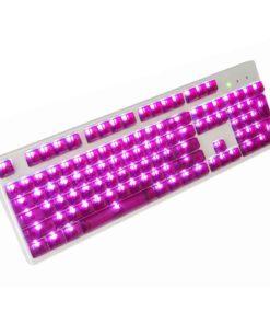 OEM Magenta Translucent Keycaps LEDs