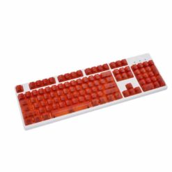 OEM Red Translucent Keycaps