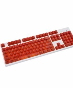 OEM Red Translucent Keycaps