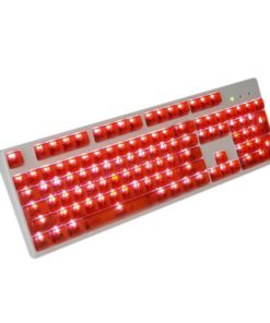 OEM Red Translucent Keycaps LEDs