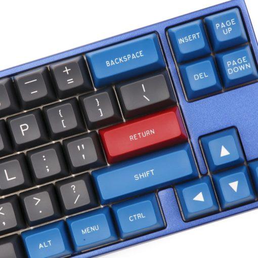 Maxkey Doubleshot ABS Blue Gray Close