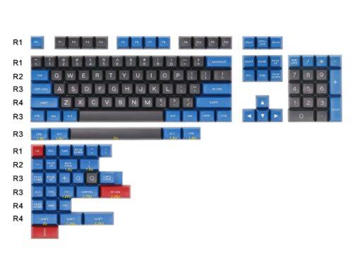 Maxkey Doubleshot SA Blue Gray Layout