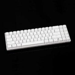 RK71 White Keyboard 71 Keys RGB Lighting and Side RGB Lighting