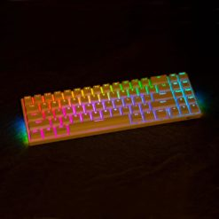 RK71 White RGB 71 Key Keyboard