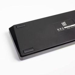 GK61S Mechanical Keyboard Black Case Hotswap Back