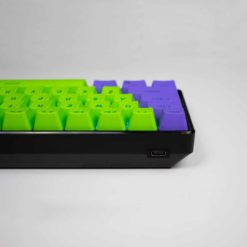 GK61S Mechanical Keyboard Black Case Hotswap USB