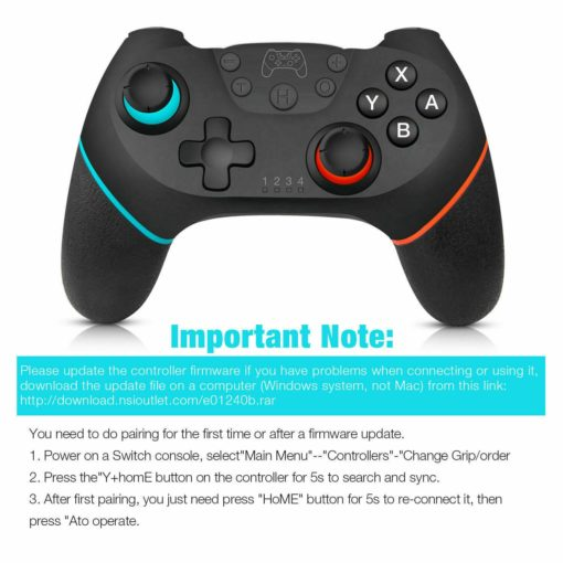Nintendo Switch Bluetooth Controller 9