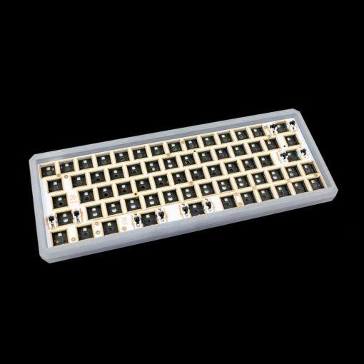 GK64xs RGB bluetooth double space bar