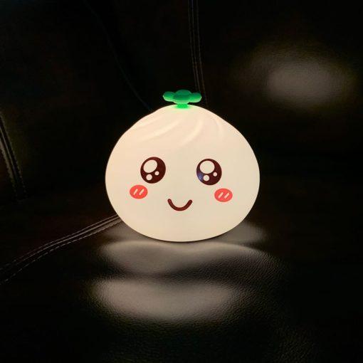 Light Up Silicone Little Bun Dumpling