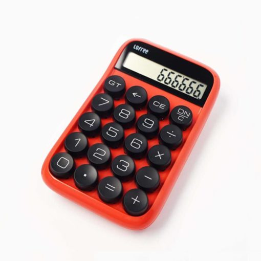 Lofree Mechanical Calculator Red
