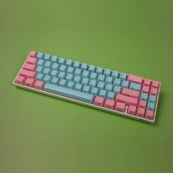 OEM Cotton Candy Side Legend Keycaps Full