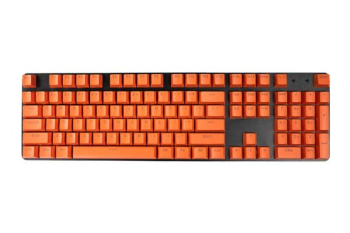 OEM Orange Mixable Keycaps 104 Keycap Set Full
