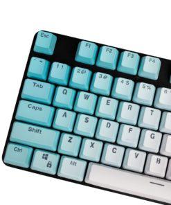 OEM Profile Blue Gradient PBT Keycaps Main