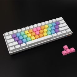 Rainbow Wave Alpha Keycaps Bright Side Legends Main