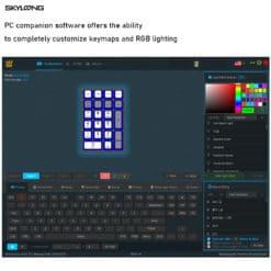 GK21S Metallic Blue Bluetooth Numpad Software