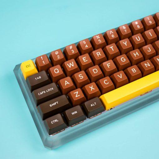 Maxkey SA Chocolate Keycaps main