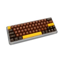 Maxkey SA Chocolate Keycaps profile