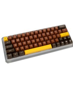 Maxkey SA Chocolate Keycaps profile