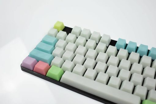 OEM Jelly Delight POM keycaps Left Side Close