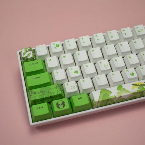 OEM Dyesub Through The Meadow Keycaps 108 key set Main