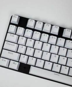 OEM White Mixable Keycaps 104 Keycap Set Main