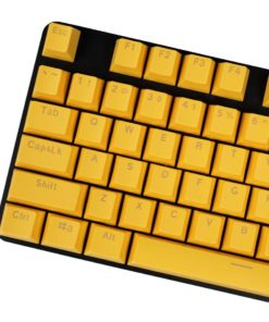 OEM Yellow Mixable Keycaps 104 Keycap Set Main