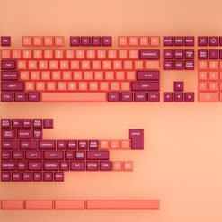 OSA Profile Doubleshot Molten Lava Keycaps Rows