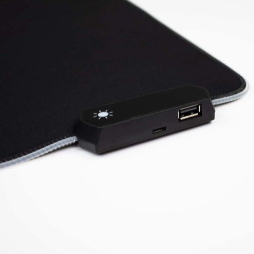 RGB LED Deskmat USB Passthrough